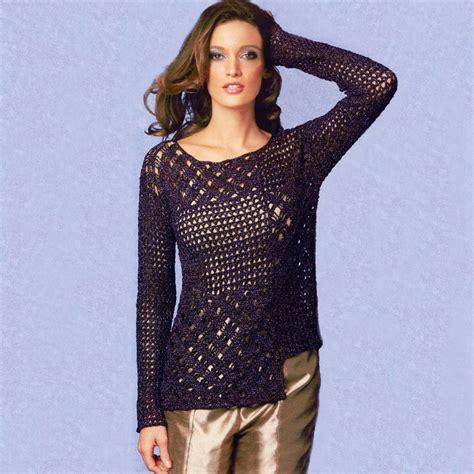 etsy tunic pattern asymmetric crochet tunic pattern casual crochet tunic