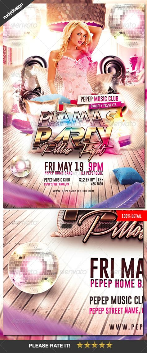party flyer template free dcdesigns info