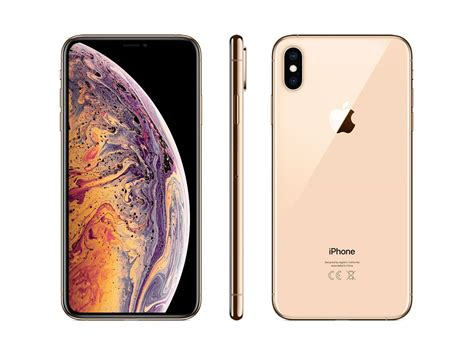 iphone xs max gb gold
