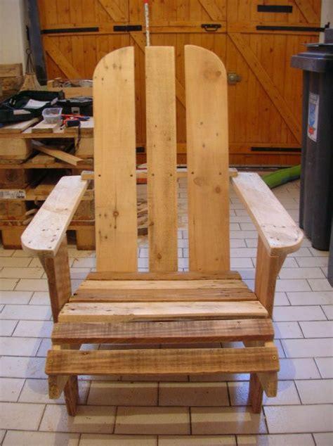 siege en palette fauteuil adirondack r 233 cup way of