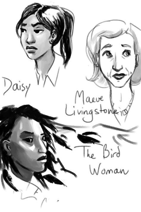 A few more Anansi Boys doodles before I sign off:...