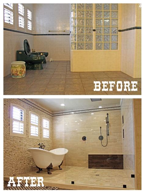 before and after master bathroom remodels 33 best before and after remodeling images on pinterest