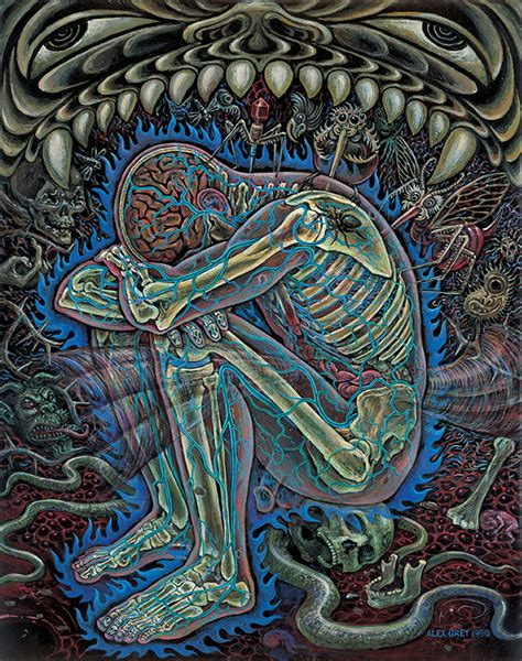 interview with visionary artist alex grey miroir magazine