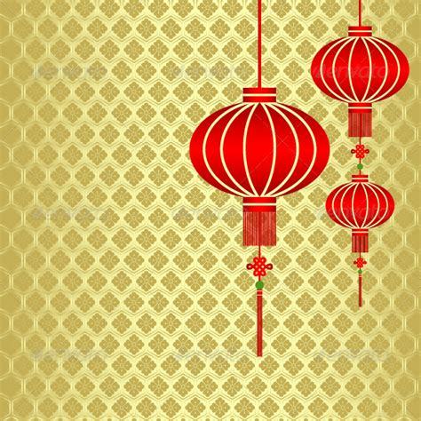 cny template new year lantern background graphicriver