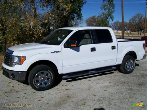 ford truck white 2010 ford f150 xlt supercrew in oxford white d65533