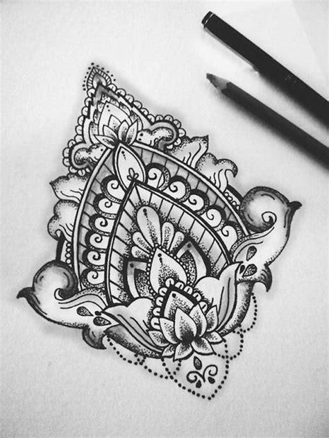 Tattoo Mandala Vorlagen   220 ber 75 ideen f 252 r tattoo motive mit einem tiefen sinn