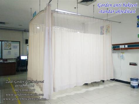 Bahan Tirai Rumah Sakit Blackout gorden rumah sakit mengunakan bahan gorden anti bakteri dan gorden anti noda standar akreditasi