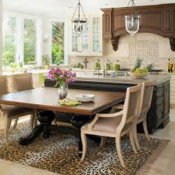 Dining Table To Kitchen Island Remodel Chicagoland Amazing Kitchen Island Ideas