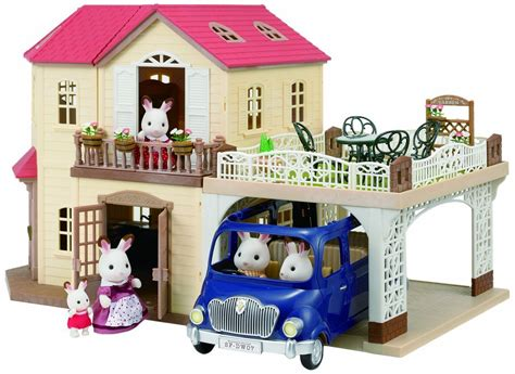 Sylvanian Family Maple Manor With Carport by Sylvanian Families Maple Manor With Carport At