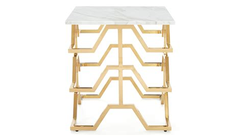 gold and marble end table modern gold and marble end table zuri furniture