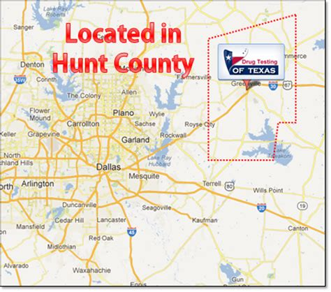 hunt county texas map hunt texas map afputra