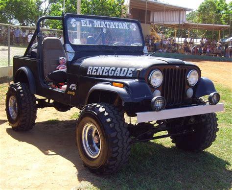 badass blue jeep badass cj7 jeep by mister lou on deviantart