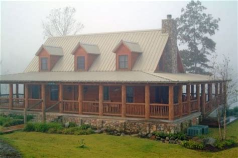 log home with wrap around porch like the offset steps and wrap around porches photographs and home on pinterest
