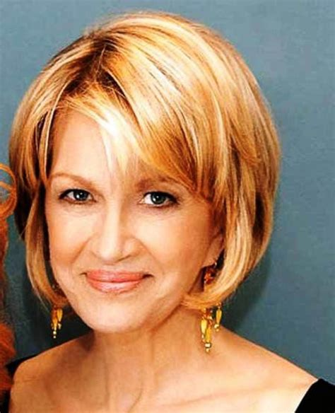 hairstyles for elderly with fine hair short hairstyles for older women with fine hair