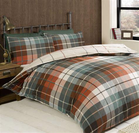 Checked Duvet Covers Checked Amp Striped Quilt Duvet Cover Amp Pillowcase Bedding