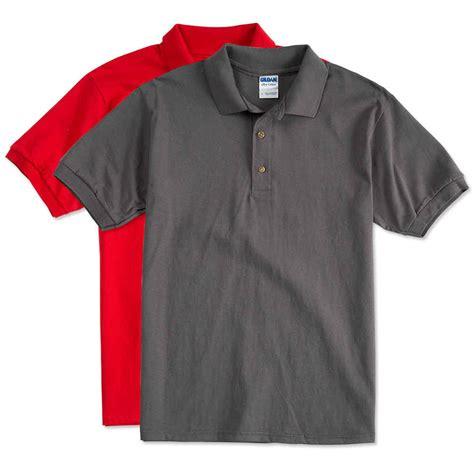 Handmade Apparel - design custom printed gildan ultra cotton polo shirts