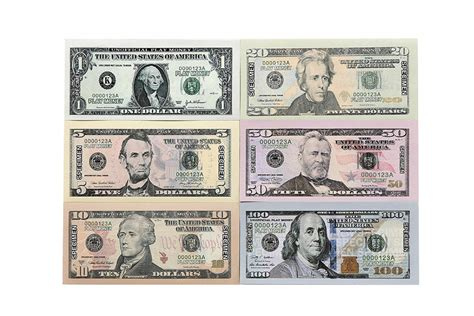 printable fake money that looks real 9300 in play money pretend dollar bills realistic