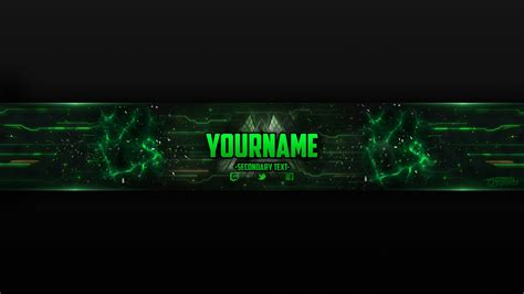 Yt Banner Template 2560x1440 Free Photoshop Banner Template Youtube