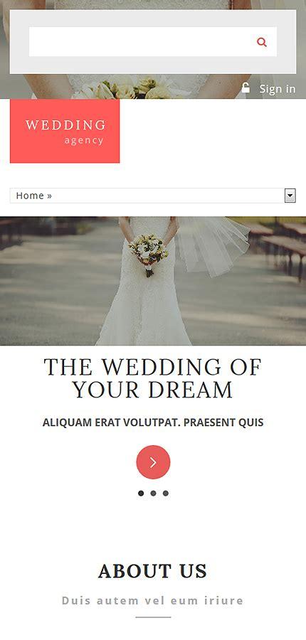 drupal themes wedding wedding agency drupal template smartphone layout 1