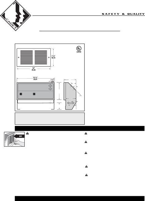 wall heater wiring cadet wall heater wiring diagram wall free
