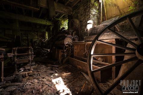 abandoned site proj3ctm4yh3m urban exploration urbex ceulan mill