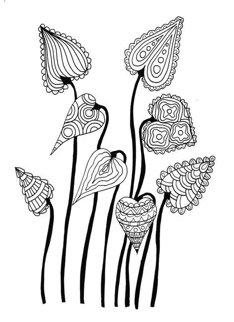 doodle drawings images leaves inked doodle by welshpixie on deviantart