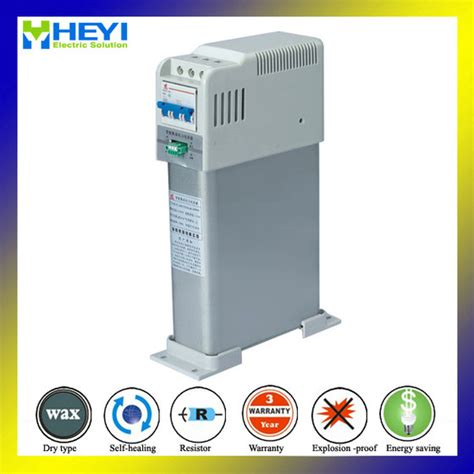 3 phase power factor correction capacitors 20kvar smart power factor correction capacitor three phase power compensate from yueqing heyi