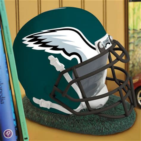 philadelphia eagles bedroom decor philadelphia eagles nfl helmet bank