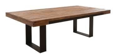 table de jardin bois et fer jsscene des id 233 es