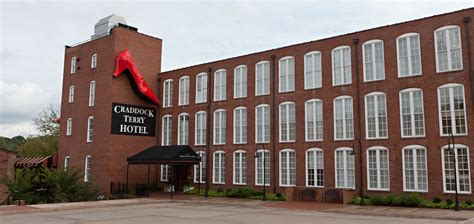 hotel in lynchburg virginia boutique hotels craddock terry hotel the craddock terry hotel virginia historic hotel