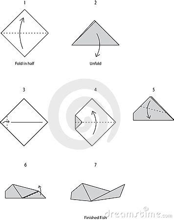 origami fish royalty free stock images image 16655979