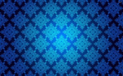 wallpaper tribal biru blue floral wallpapers floral patterns freecreatives