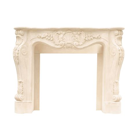 fireplace mantels at lowes historic mantels dl11001 designer series louis xiii cast