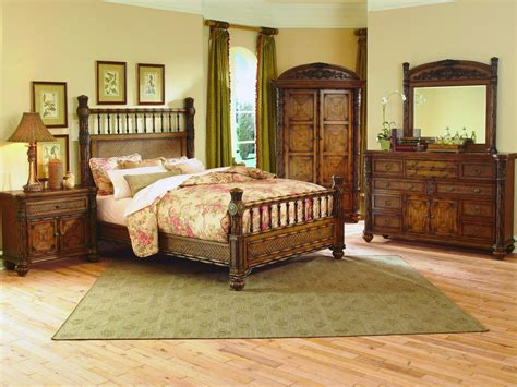 homelegance tropical island bedroom collection b562