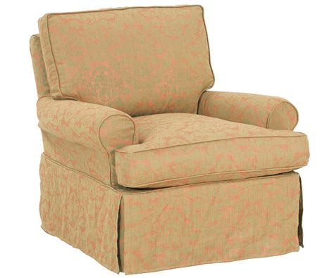 swivel rocker slipcover upholstered swivel glider rocker slipcovered accent chairs