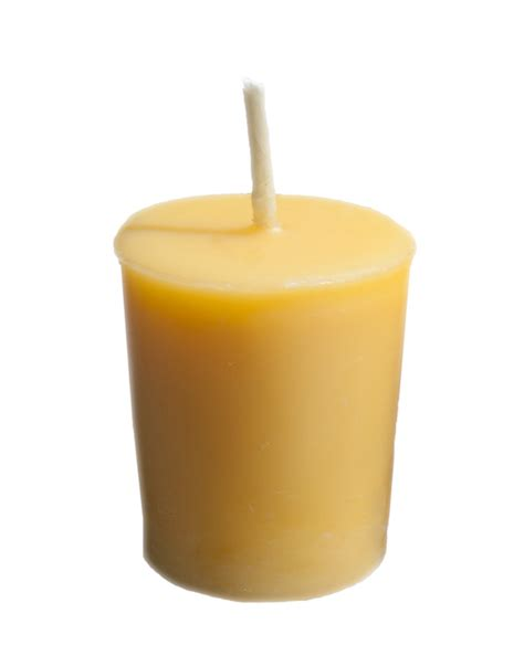Candle Light Decoration At Home by Votive Candle Set 4 Pure Beeswax Candles Burning Time Up