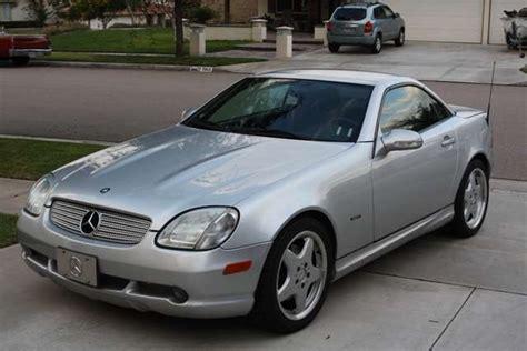 2001 mercedes slk 320 convertible amg pkg for sale in
