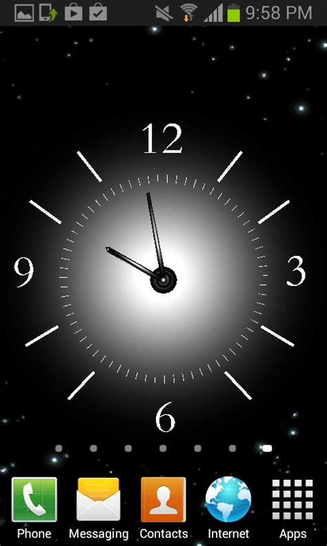 live clock themes software live clock wallpaper vidur net