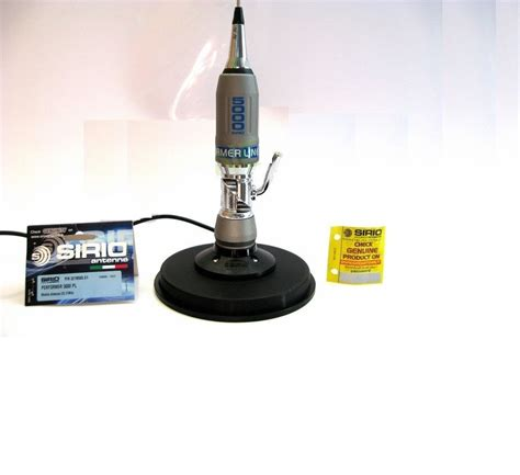 cb antenna sirio performer 5000pl with cb magnetic base 145mm with coax pl259 ebay