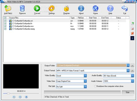 converter to mp4 allok video to mp4 converter download