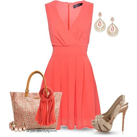 best 25 coral dress accessories ideas on