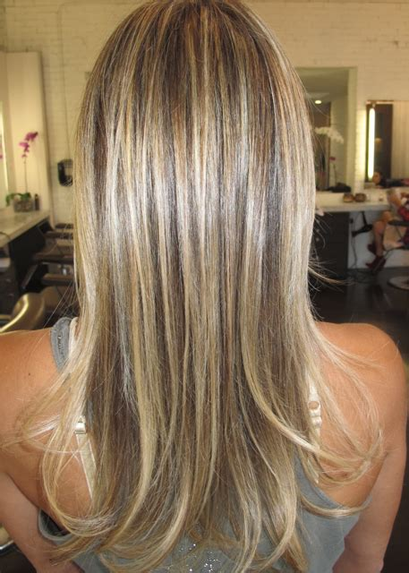 blonde highlights on brown hair natural highlights jonathan george