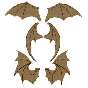 Halloween Toys Bat Wings Set 2