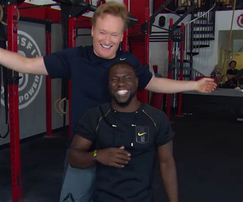 kevin hart gym conan kevin hart hit the gym