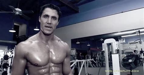 workout inspiration net greg plitt push performance workout