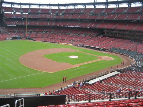 section 235 busch stadium busch stadium section 261 rateyourseats com