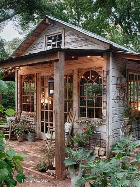 Outdoor Cabins Sheds by 25 Best Ideas About Rustic Shed On Garden