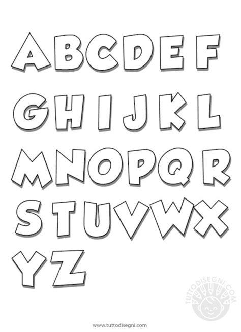 lettere vuote da colorare lettere alfabeto archives tutto disegni