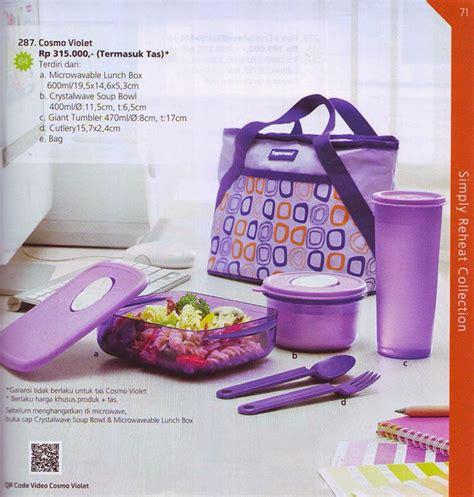 jual cosmo violet tupperware larisris