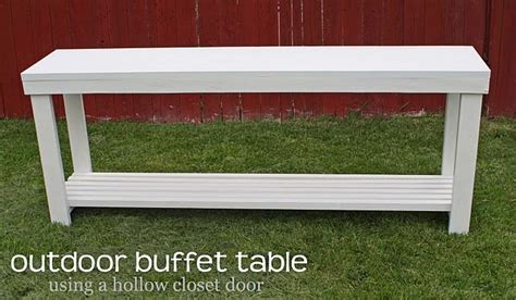 Patio Buffet Table Diy Outdoor Buffet Table Stuff For To Make For Me Pinterest Decks Outdoor And Back